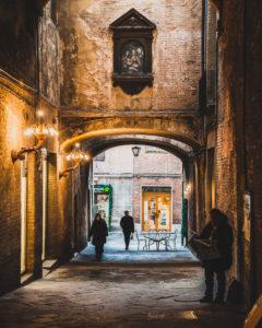 Stradine di Siena - due giorni in toscana